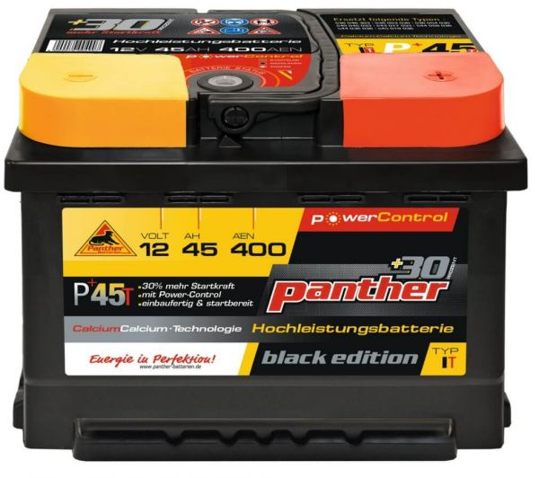 Panther Black Edition +30%T/ 12V 45Ah 400A