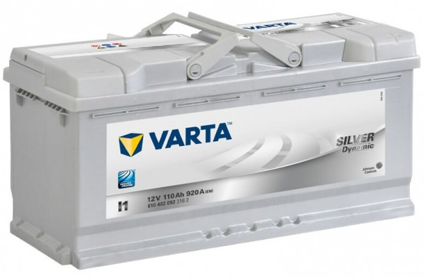Varta SILVER Dynamic I1 12V 110Ah 920A