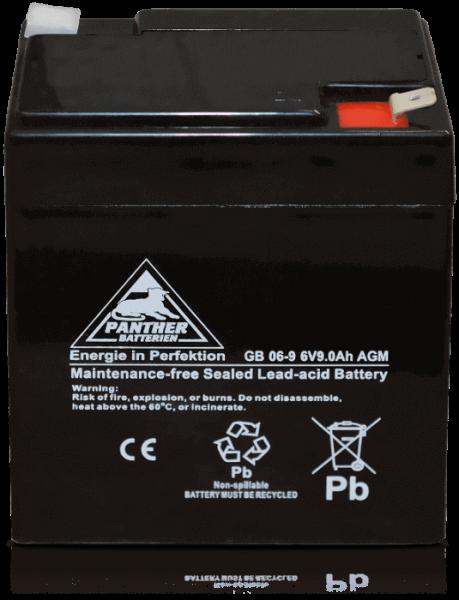 Panther AGM-TECH 6V 9Ah DIN GB.06-9