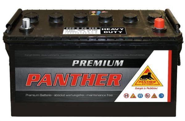 Panther Premium 12V 100Ah 600A DIN 60026