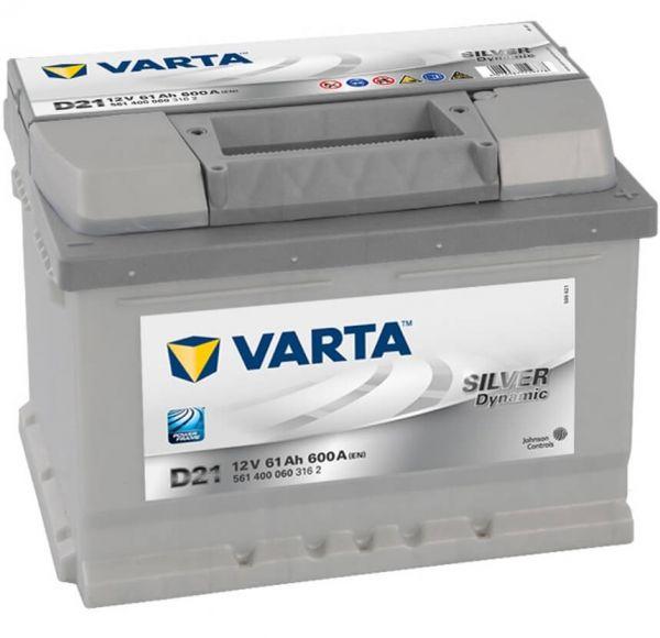 Varta SILVER Dynamic D21 12V 61Ah 600A