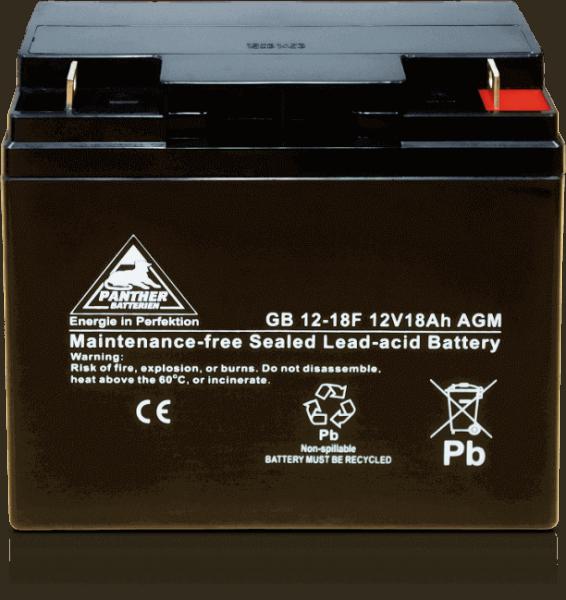 Panther AGM-TECH 12V 18Ah DIN GB.12-18F