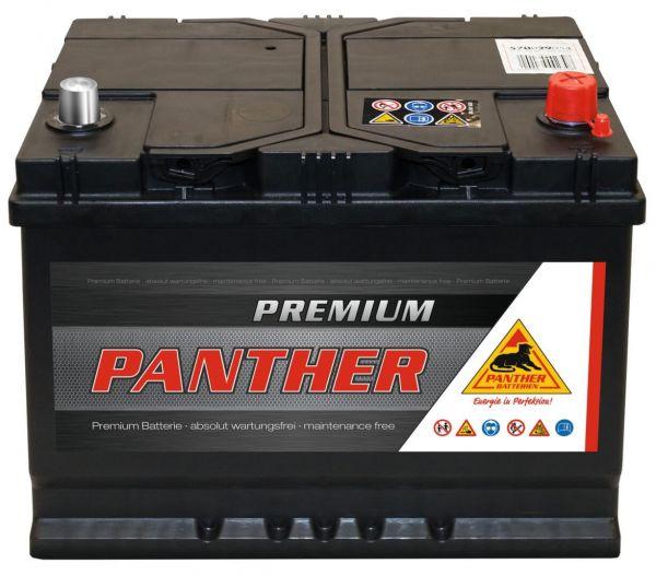 Panther Premium 12V 70Ah 540A DIN 57029