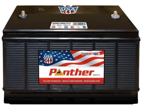 Panther US-CAR 12V 100Ah 900A DIN 60040 Autobatterie