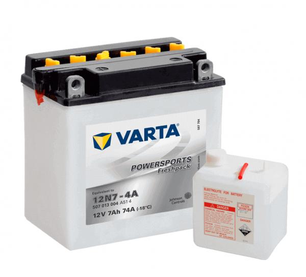 Varta POWERSPORTS FP 12V 7Ah 40A 12N7-4A ETN 507013004