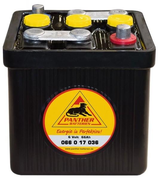 Panther Oldtimer 6V 66Ah 360 A DIN 06617 Starterbatterie