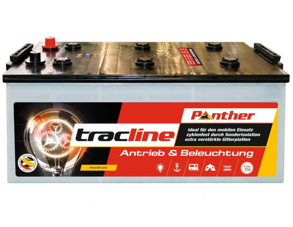 Panther tracline 12V 260Ah Solarbatterie DIN 96801