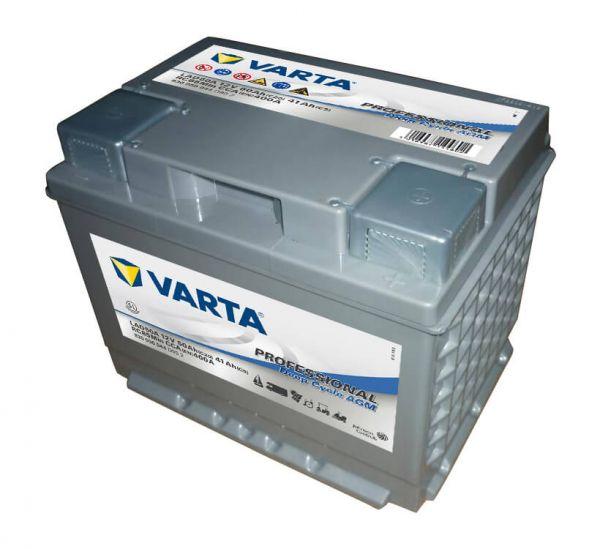Varta Professional DC AGM LAD50A 12V 50Ah 400A