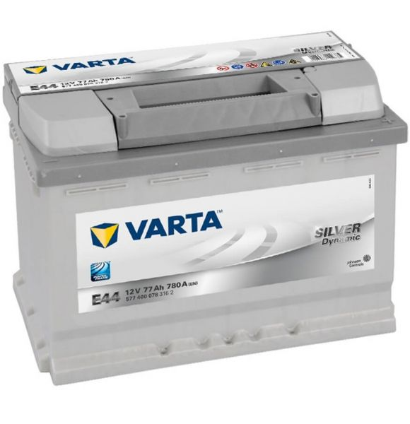 Varta SILVER Dynamic E44 12V 77Ah 780A
