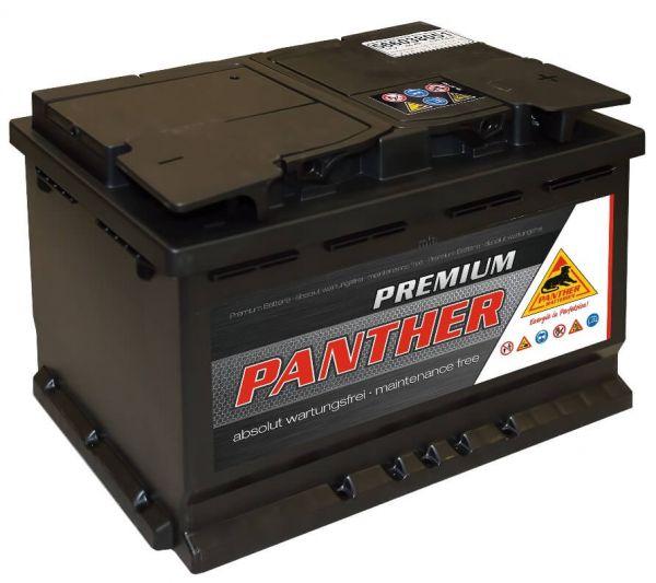 Panther Premium 12V 66Ah 510A DIN 56638