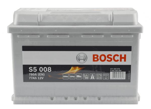 Bosch S5 008 12V 77Ah 780A 0 092 S50 080