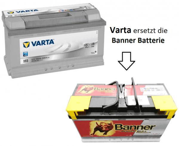 Varta Batterie für Schmitz-Cargobull