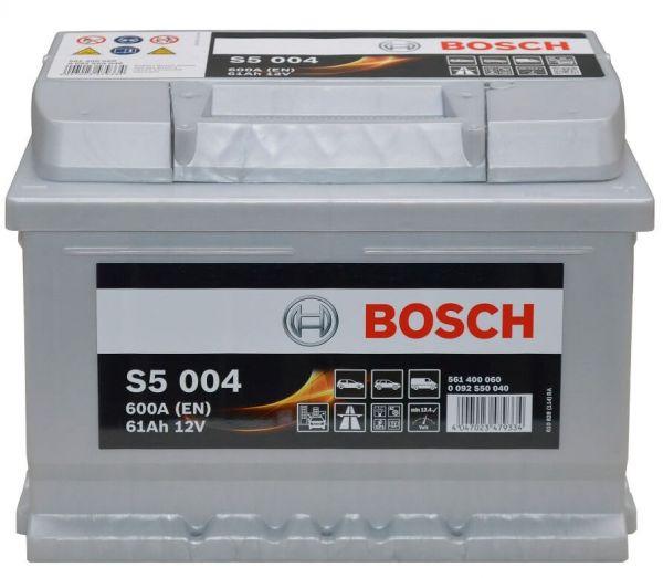 Bosch S5 004 12V 61Ah 600A (0 092 S50 040)