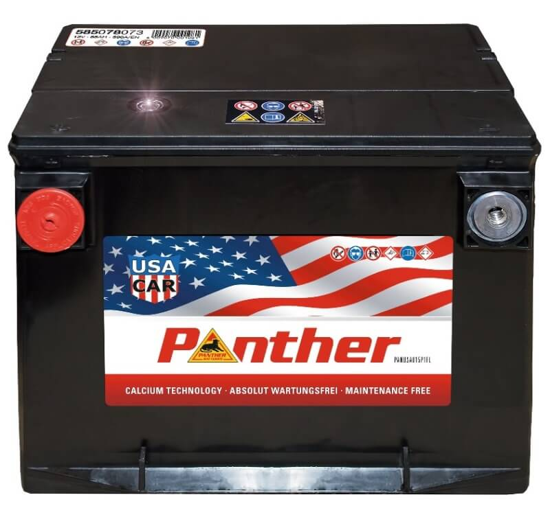 panther usa 12v 85ah autobatterie starterbatterie. Black Bedroom Furniture Sets. Home Design Ideas