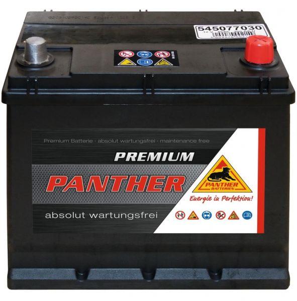 Panther Premium 12V 45Ah 300A DIN 54577