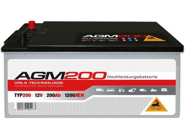 Panther AGM200 12V 200Ah