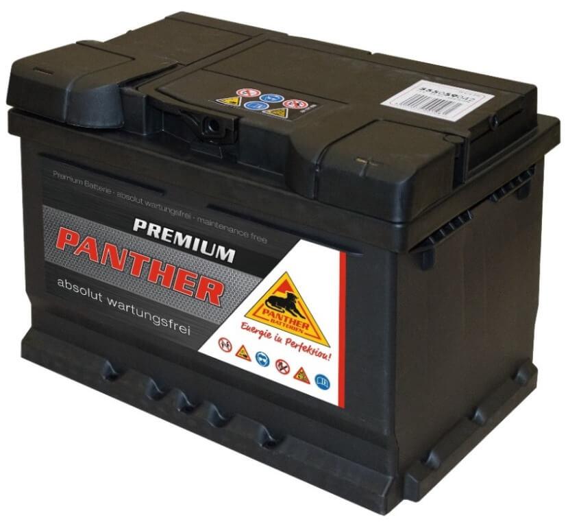 panther autobatterie 12v 55ah din 55559. Black Bedroom Furniture Sets. Home Design Ideas
