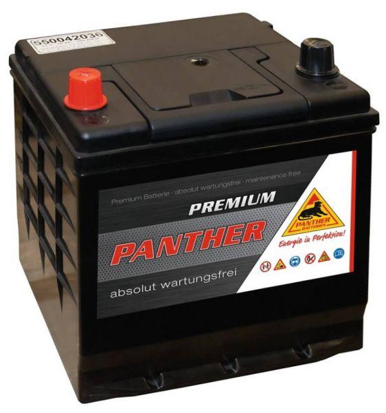 Panther Premium 12V 50Ah 360A DIN 55042