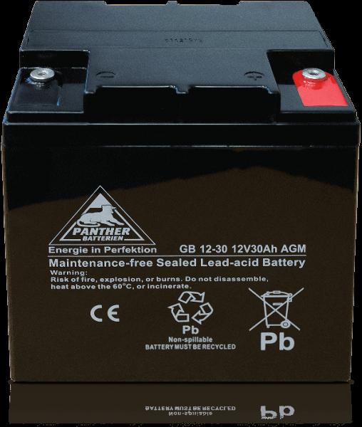 Panther AGM-TECH 12V 30Ah DIN GB.12-30F