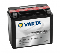 Varta POWERSPORTS AGM 12V 18Ah 260A YTX20L-4 / YTX20L-BS ETN 518901026