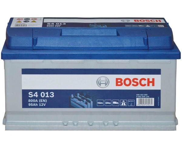 Bosch S4013 Starterbatterie 12V 95Ah 0092S40130 - für KFZ