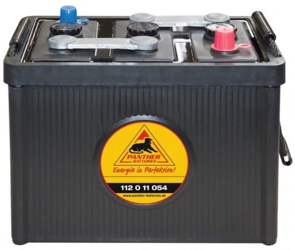 Panther Oldtimer 6V 112Ah 540A/EN DIN 11211 Starterbatterie