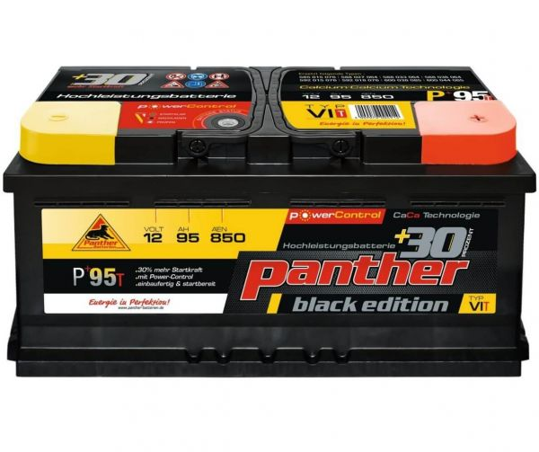 Panther Black Edition +30%T / 12V 95Ah 850A