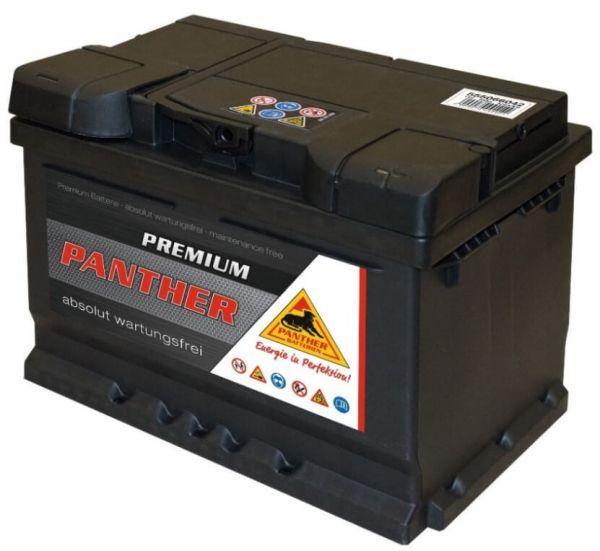 Panther Premium 12V 55Ah 420A DIN 55566