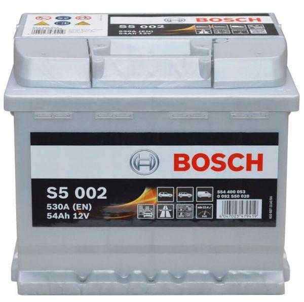 Bosch S5 002 12V 54Ah 530A 0 092 S50 020