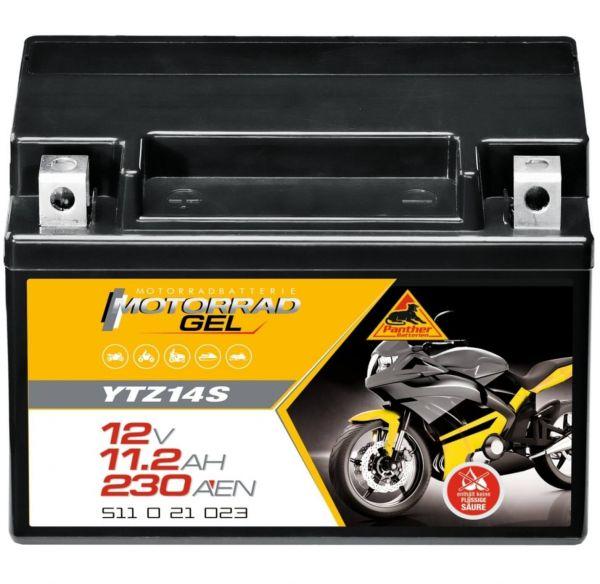 Panther GEL 12V 11,5Ah 210A DIN 51121 / YTZ 14S