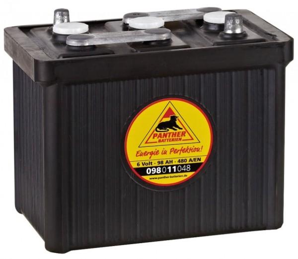 Panther Oldtimer 6V 98Ah 480A/EN DIN 09811 Starterbatterie