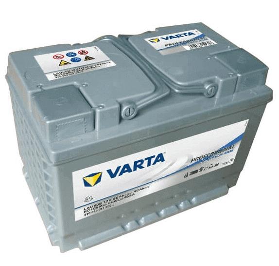 Varta Professional DC AGM LAD60B 12V 60Ah 464A