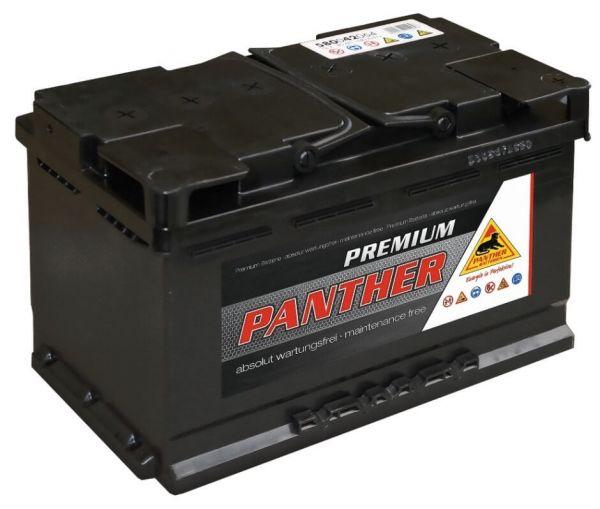 Panther Premium 12V 80Ah 640A DIN 58042