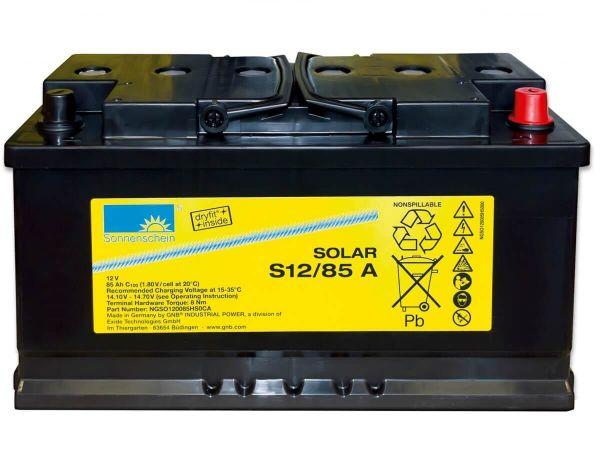 Sonnenschein Solar Dryfit 12V 85Ah S12/85 A