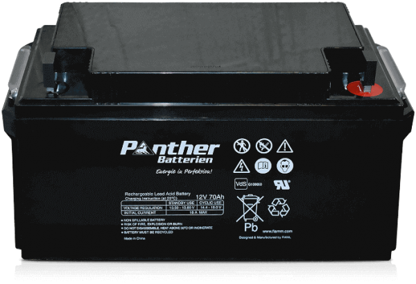Panther AGM-TECH 12V 70Ah DIN GB.12-70F