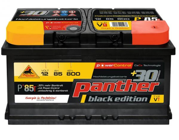 Panther Black Edition +30%T / 12V 85Ah 800A