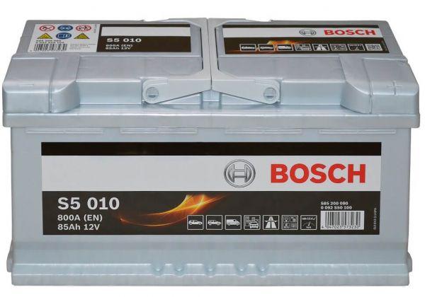 Bosch S5 010 12V 85Ah 800A (0 092 S50 100)