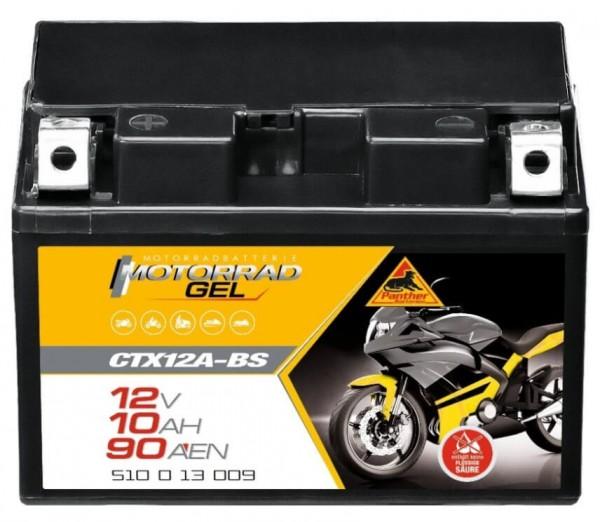 Panther GEL 12V 10Ah 150A DIN 51013 / CTX12A-BS