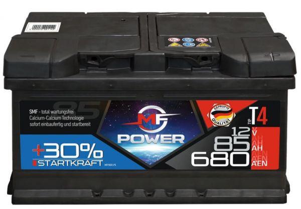 autobatterie mf power edition 30 12v 85ah 680a ers. Black Bedroom Furniture Sets. Home Design Ideas