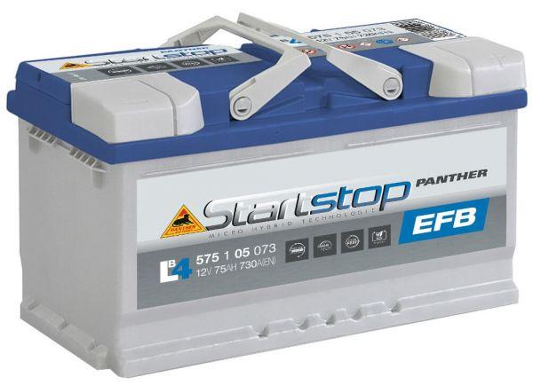 Panther Start+Stop EFB 12V 75Ah 730A