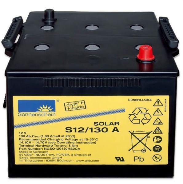 Sonnenschein Solar Dryfit 12V 130Ah S12/130 A GEL